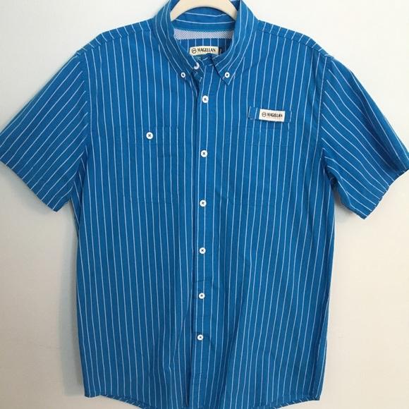 b57cca2005 Magellan Outdoors Shirts | Magellan Pin Stripe Fishing Shirt | Poshmark